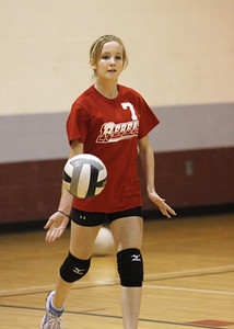 SNMS Volleyball vs NW 2011