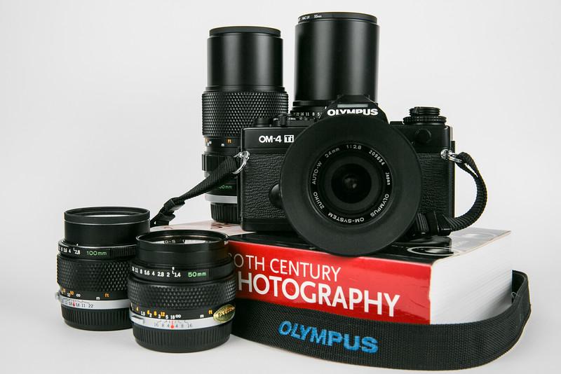1992 Olympus OM-4 Ti
