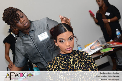 African Fashion Week DC 2015 - AFWDC - AFWDC Runway Fashion Show and Vendors - Glam Squad - Backstage - Audience 3-21-2015