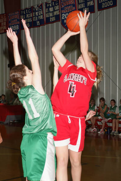 St A's 2007 Middle School Basketball
