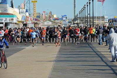 Half Marathon Start and First Loop