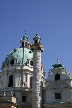 Vienna August 2007 - Karlskirche