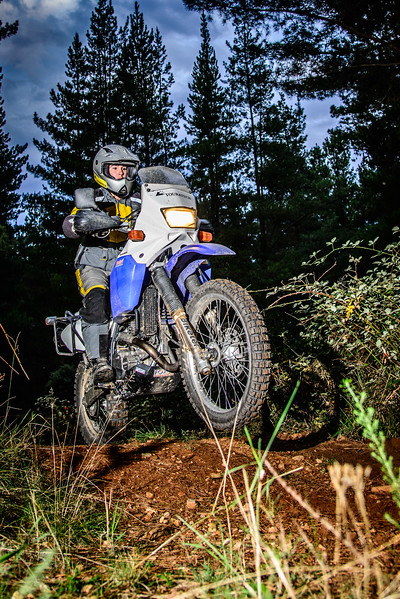 Andrea showed that the passion for adventure riding is a common thread in the Box family.