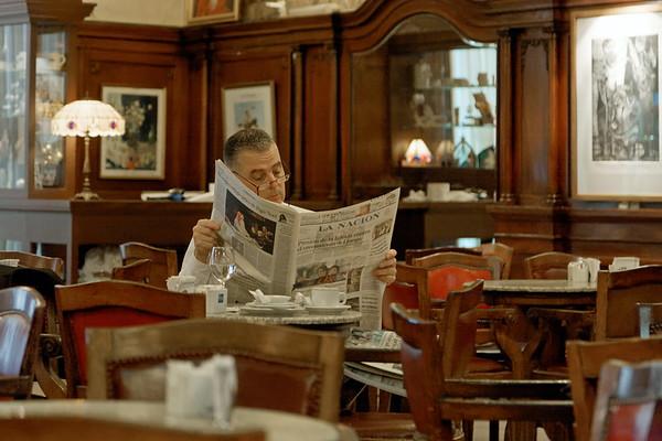 Cafe Tortoni - Avenida de Mayo