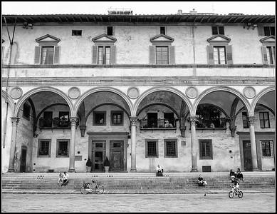 Florence - SS Annunziata e Piazza San Marco