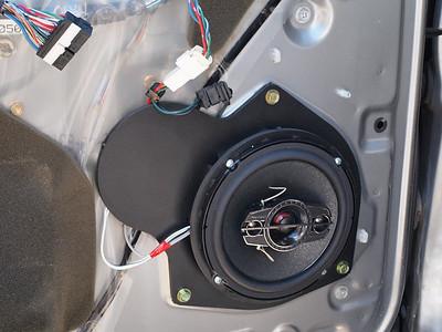2003 Toyota Sequoia Front Door Speaker Installation - USA