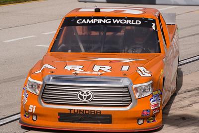 Suarez #51 Truck at Chicago Speedway 9-15