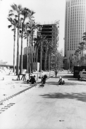 1995, Patsaouras Transit Plaza Construction