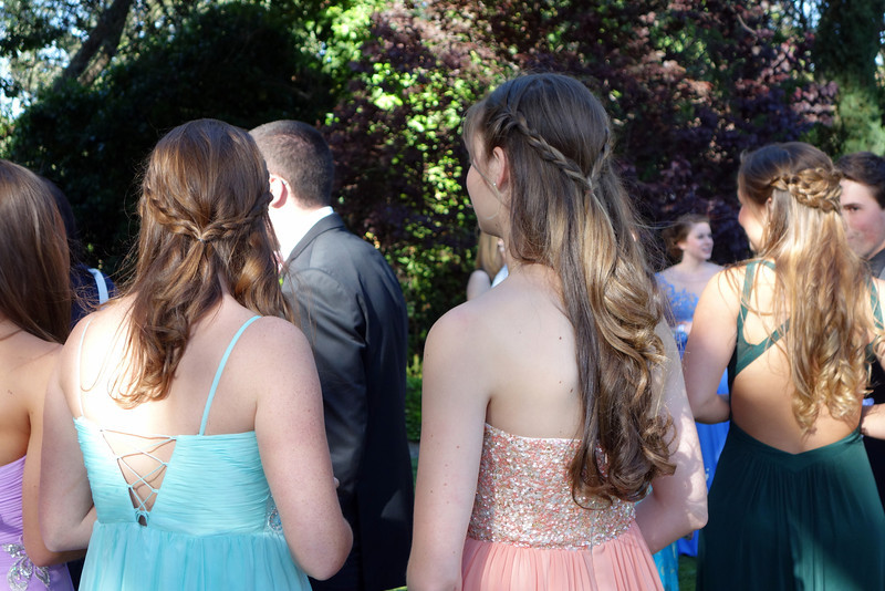 2014-05-10-0028-Pre-Party at Duke's-Elaine's High School Prom-backs of hairdos-Maggie Munro-Elaine-Katie Tritschler.jpg