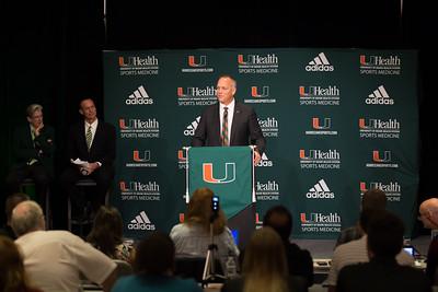 Mark Richt Introduced as New Football Coach - December 4, 2015
