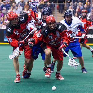 Calgary Roughnecks @ Toronto Rock 03 January 2014
