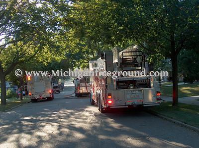 8/9/08 - Lansing house fire, 552 Samantha St