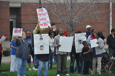 Travon Protest 21st & Hillside Wichita Kansas March 23, 2012