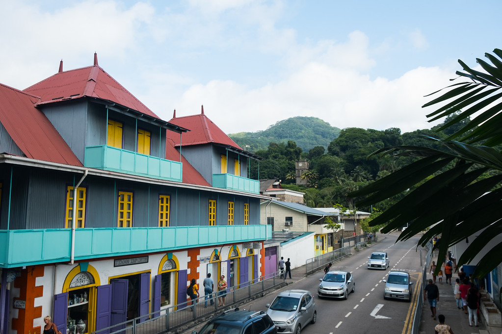 Victoria Market on Mahe Island, Seychelles