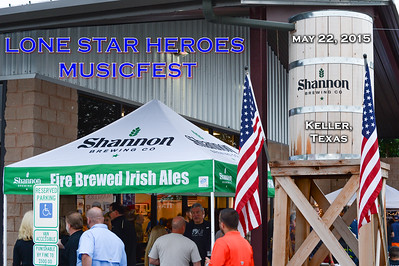 Lone Star Heroes Musicfest 2015 at Shannon Brewing Company