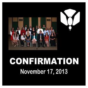 Confirmation - Nov. 2013-St. Thomas More