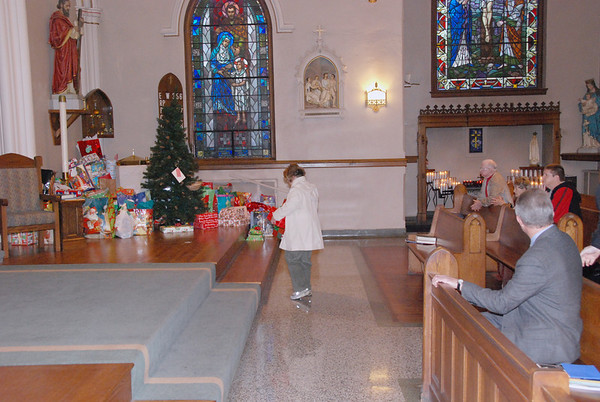 SVDP Giving Tree 2007