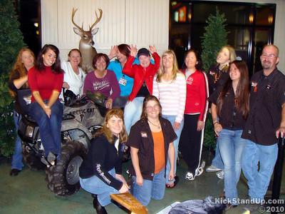 10.23.10 Thunder Creek Harley-Davidson's Open Season Ladies Event