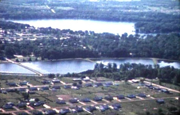 . The Fish Hatchery ponds in 1960