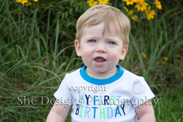 Holden is one!