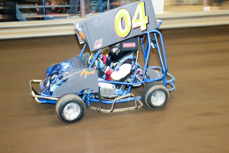 Outlaw Kart Racing - Roseburg, Oregon - River Arena Speedway
