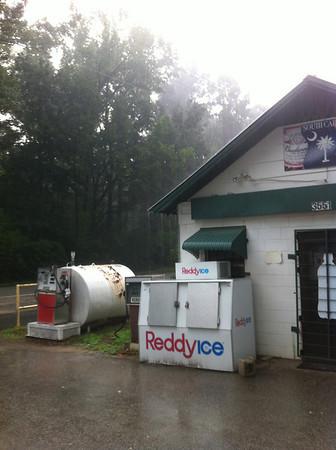 Firetower 45 in the rain