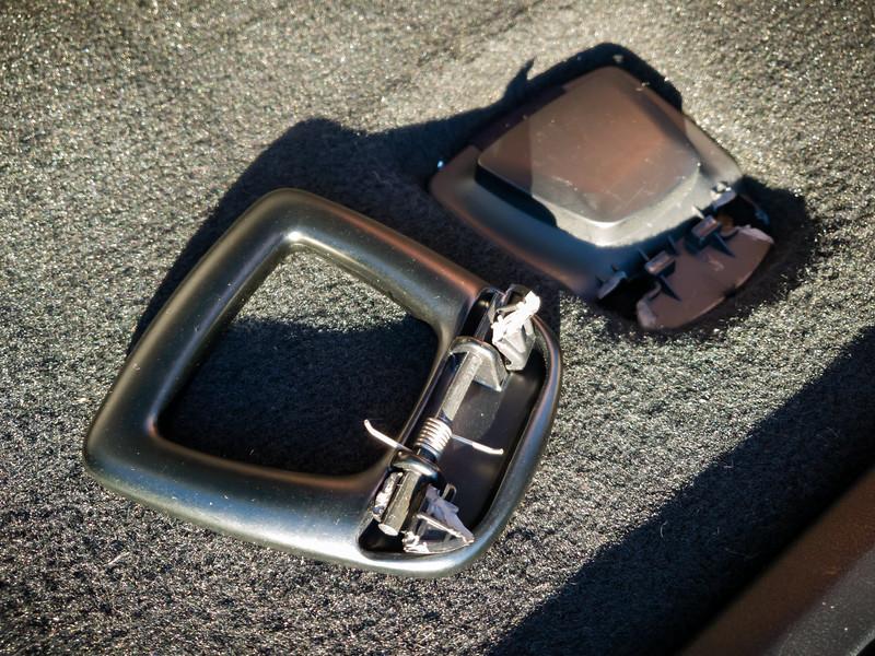 2019 01/27: Broken Trunk Lid Latch (Mobile)