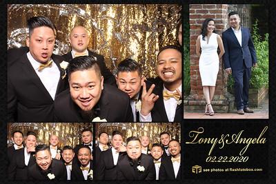 Tony & Angela Wedding - February 22, 2020