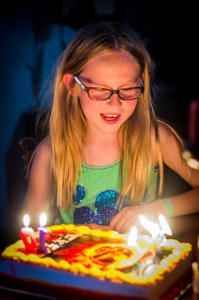 Mia's 10th Birthday - 2014