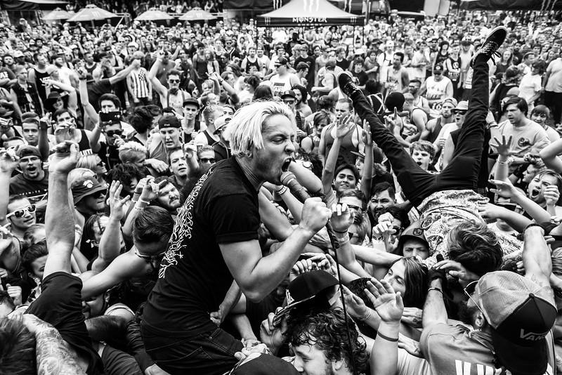 Telle Smith in Salt Lake City, UT on Vans Warped Tour 2016