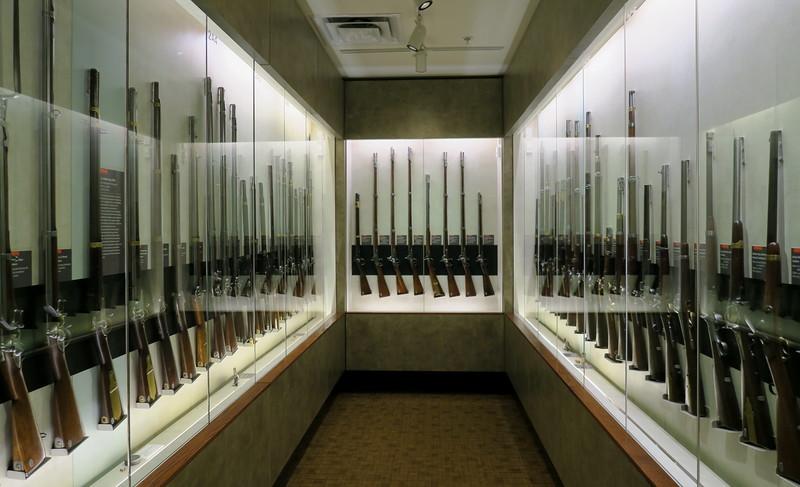 Chickamauga Visitor Center - Fuller Gun Collection