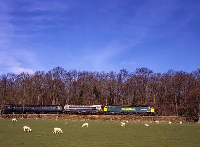 Mid-Hants Railway Diesel Gala: March 2000.