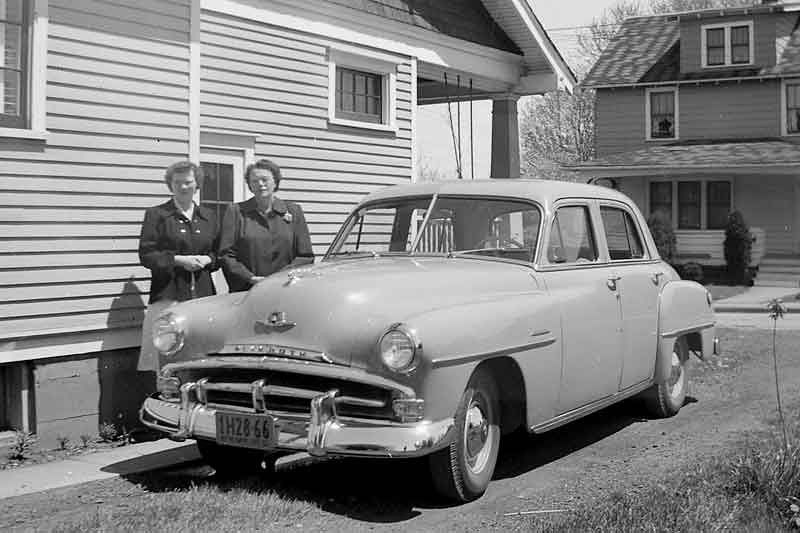 If you can read the plate you will know for sure what year this is but i think it was the year we were married. It is Janet and Hazel