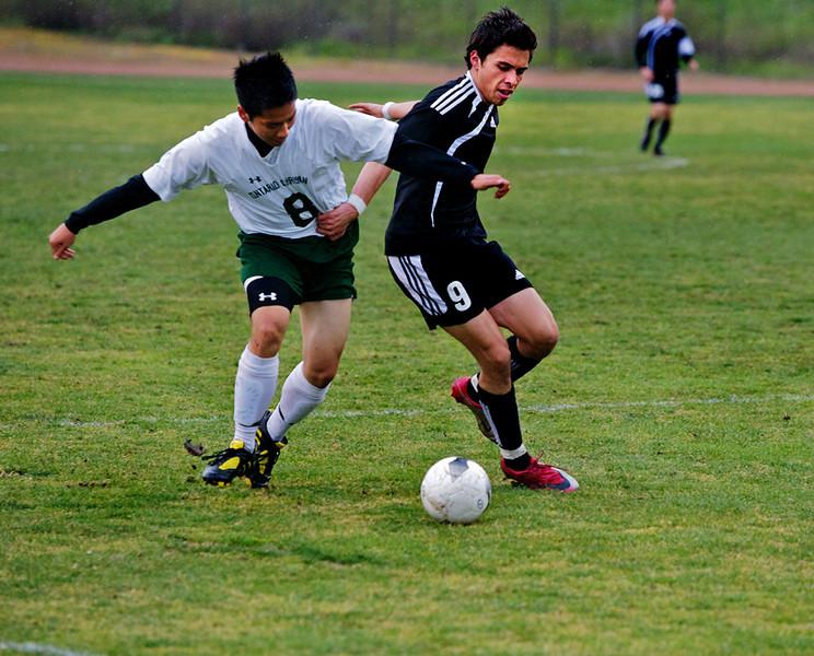 WHS vs Ontario Christian Soccer - 2011