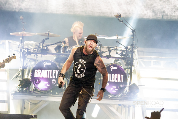 Brantley Gilbert with Lindsay Ell and Michael Ray