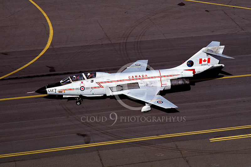 F-101BForg 00011 McDonnell F-101B Voodoo Canadian Armed Forces 101027 Hill AFB October 1981 by Carl E Porter.JPG
