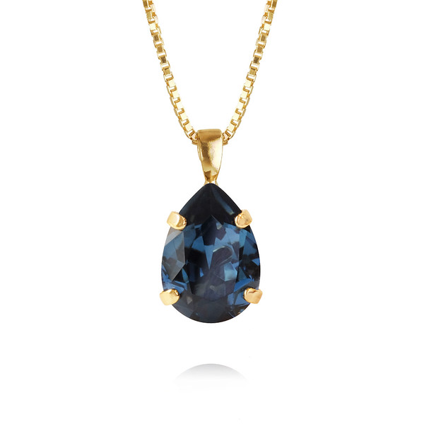 Mini Drop Necklace / Montana Gold