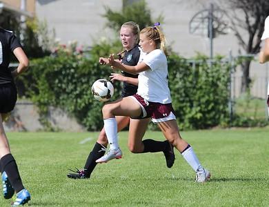 JHS Girls Futbal vs Hillcrest