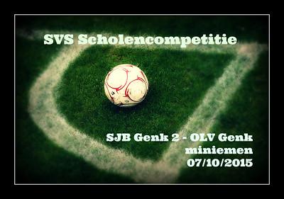 SVS : SJB Genk 2 - OLV Genk  07/10/2015