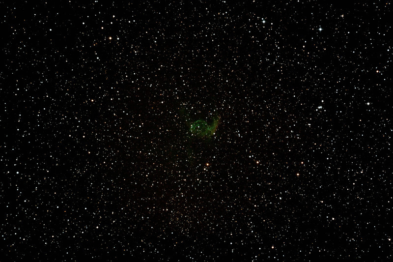 NGC2359 - Gum 4 - Thor's Helmet in Canis Major - 20/10/2012 (Processed stack)