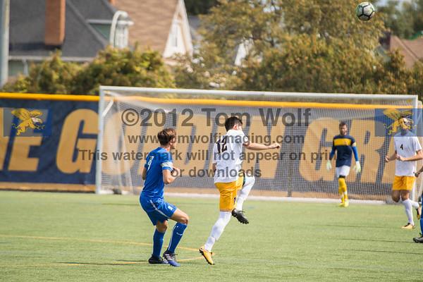 Canisius Mens Soccer vs CCS 9/10/17