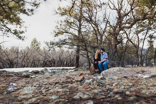 Amanda and Zach | Valentines at Buffalo Park