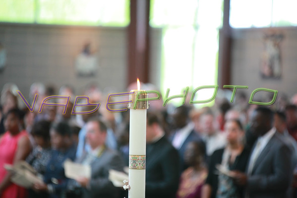 David Messan Sossou First Communion 05-09-2015