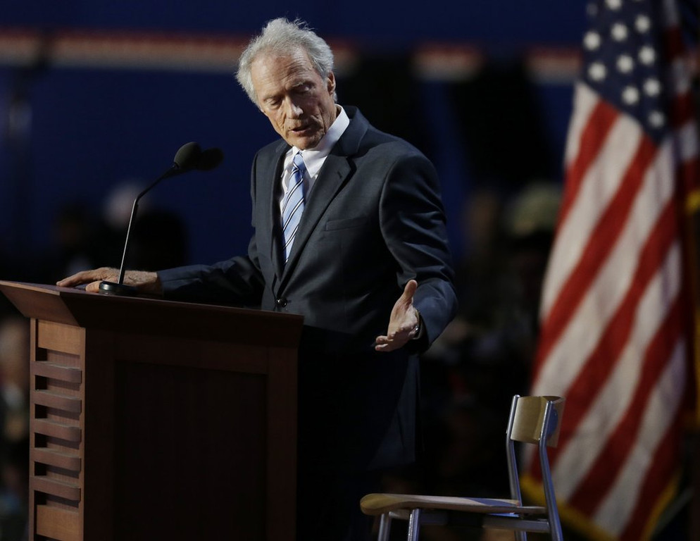 ". <p><b> Oscar winner Clint Eastwood is getting a divorce amid reports he was involved in a romantic relationship with � </b> <p> A. A friend�s wife  <p> B. A young actress  <p> C. An empty chair  <p><b><a href=\'http://www.people.com/people/article/0,,20732985,00.html\' target=""_blank\"">HUH?</a></b> <p>   (AP Photo/Lynne Sladky)"