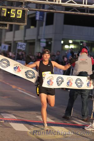 5K Finish - 2012 Detroit Free Press Marathon