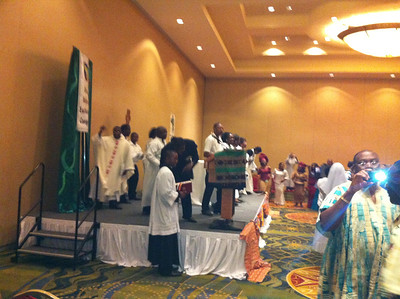 African Eucharistic Congress - Day 1: August 3, 2012