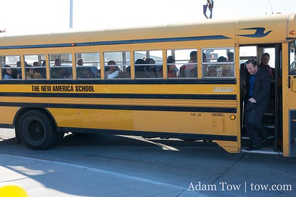 New America School Bus