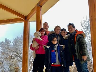 2019.12.28 Lake Topaz - Peter & Michelle visit