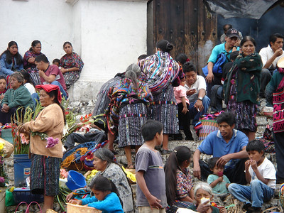 Quiche Maya in Chichicastenango (Guatemala highlands)