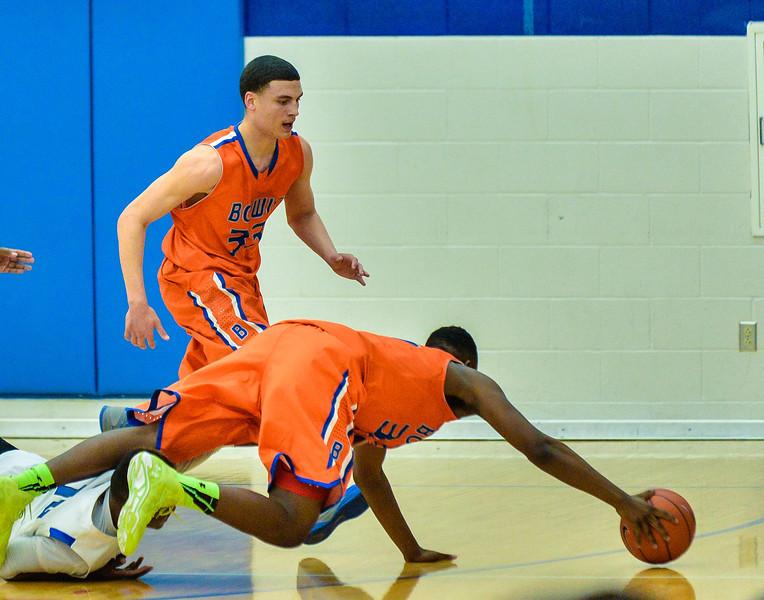Basketball Varsity Boys vs  Bowie 01-28-14-17